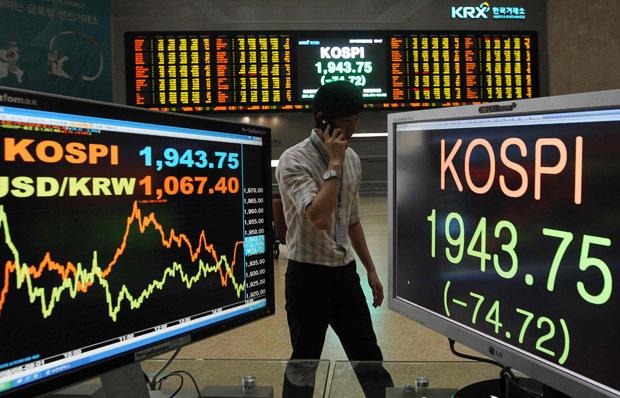 ภาวะตลาดหุ้นเกาหลีใต้